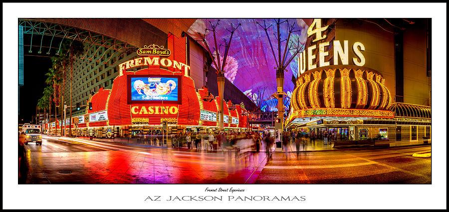 Las Vegas Photograph - Fremont Street Experience Poster Print by Az Jackson