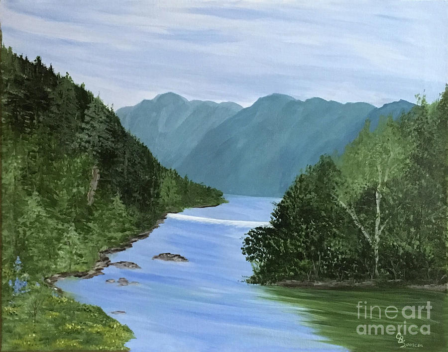 French Broad River by Connie Spencer