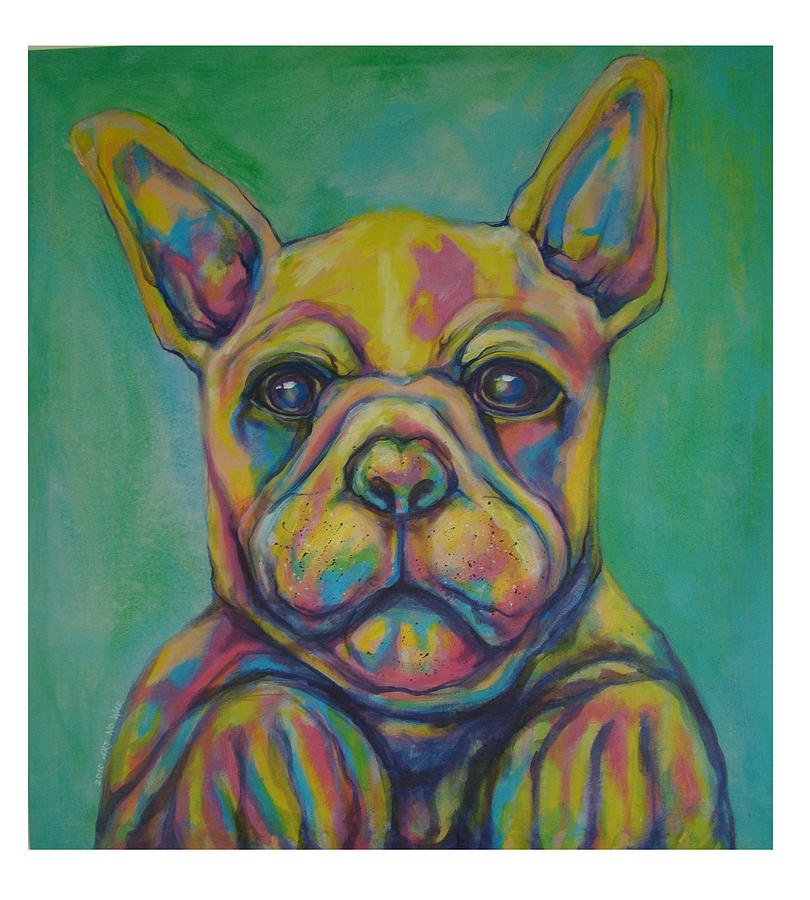 French Bulldog Painting by Jack No War