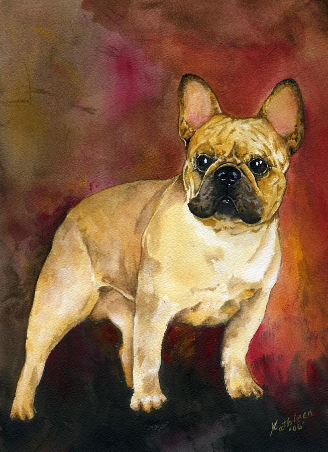 French Bulldog Painting - French Bulldog by Kathleen Sepulveda