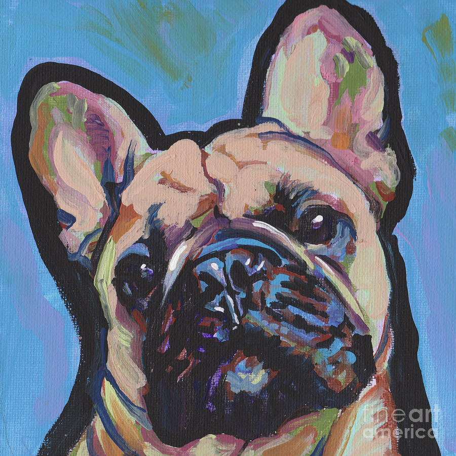 French Bulldog Painting - French Me Up by Lea