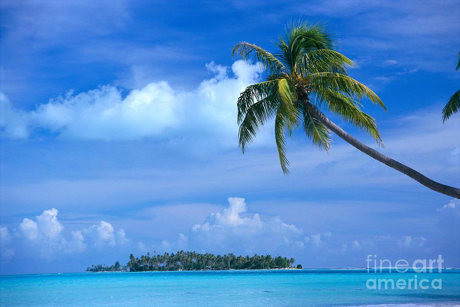 Blue Photograph - French Polynesia, Bora Bo by Himani - Printscapes