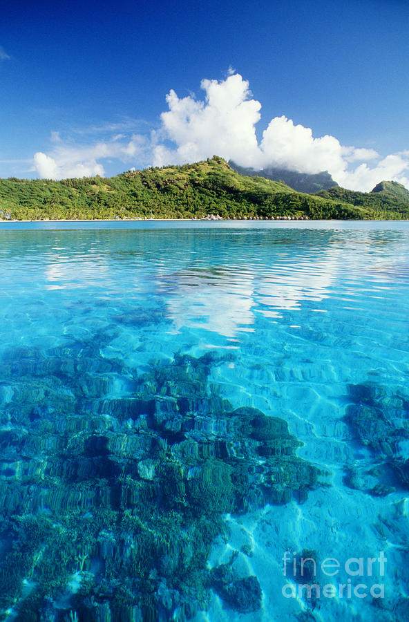 Afternoon Photograph - French Polynesia, View by Joe Carini - Printscapes