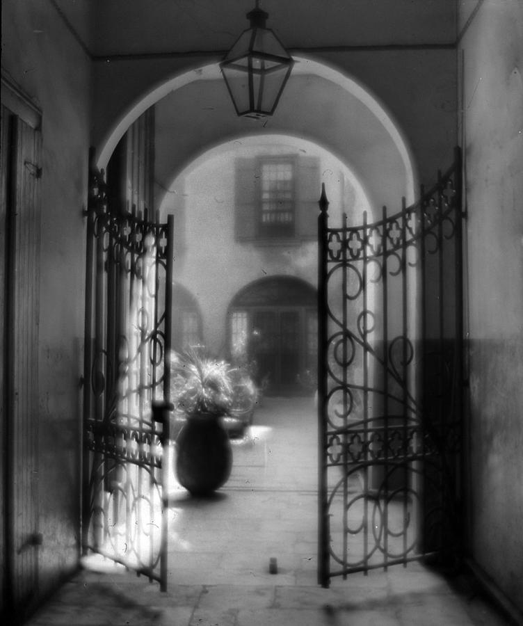 French Quarter Photograph - French Quarter Courtyard by Crescent City Collective