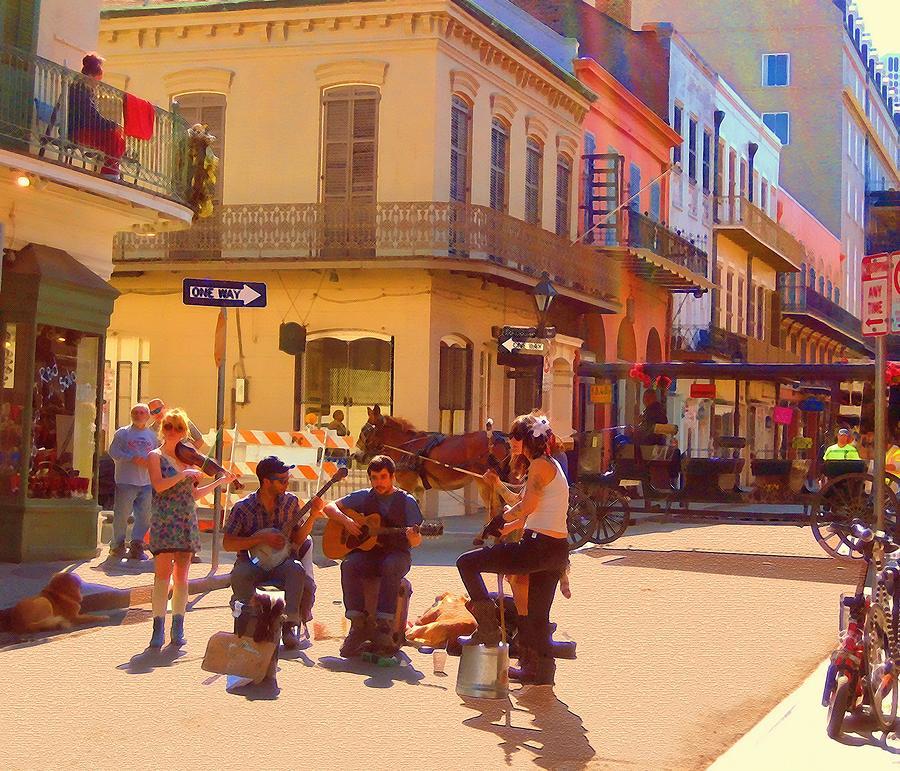 French Quarter Day by Kathy Bassett