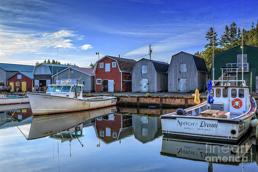 French River Prince Edward Island by Edward Fielding