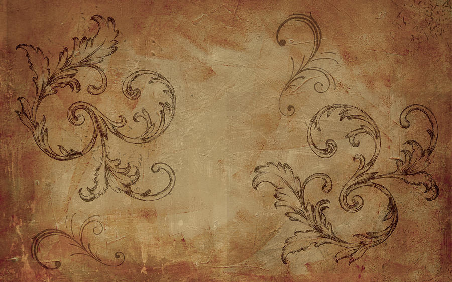 French Scrolls by Jocelyn Friis