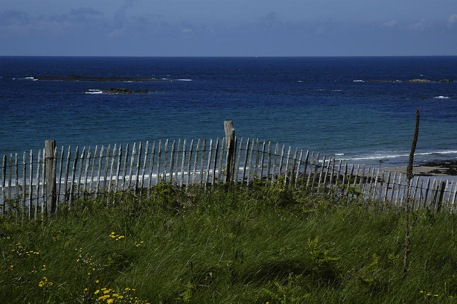 Color Photograph Photograph - French Seashore by Dan Albright