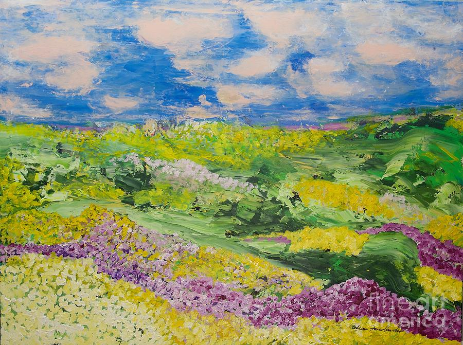 French Valley Painting