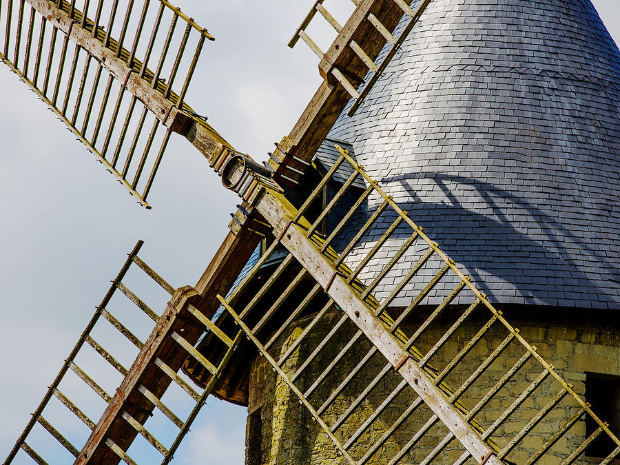 French Windmill by Atelier Bellanda