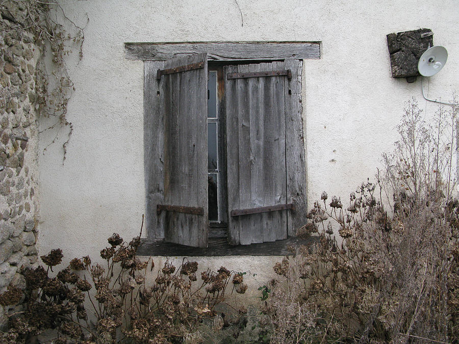 Photograph - French Window 002 by Marcus Kett