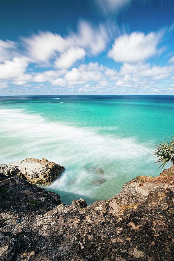 Australia Photograph - Frenchmans Beach On Stradbroke Island, Queensland. by Rob D
