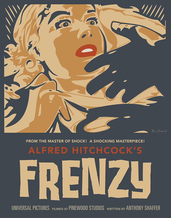 Film Print - Frenzy - Thriller Noir by Bill ONeil