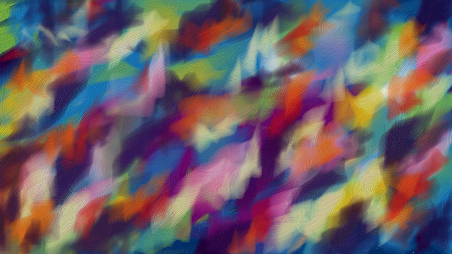 Russian Artist Digital Art - Fresh Abstraction by Nadia Nova