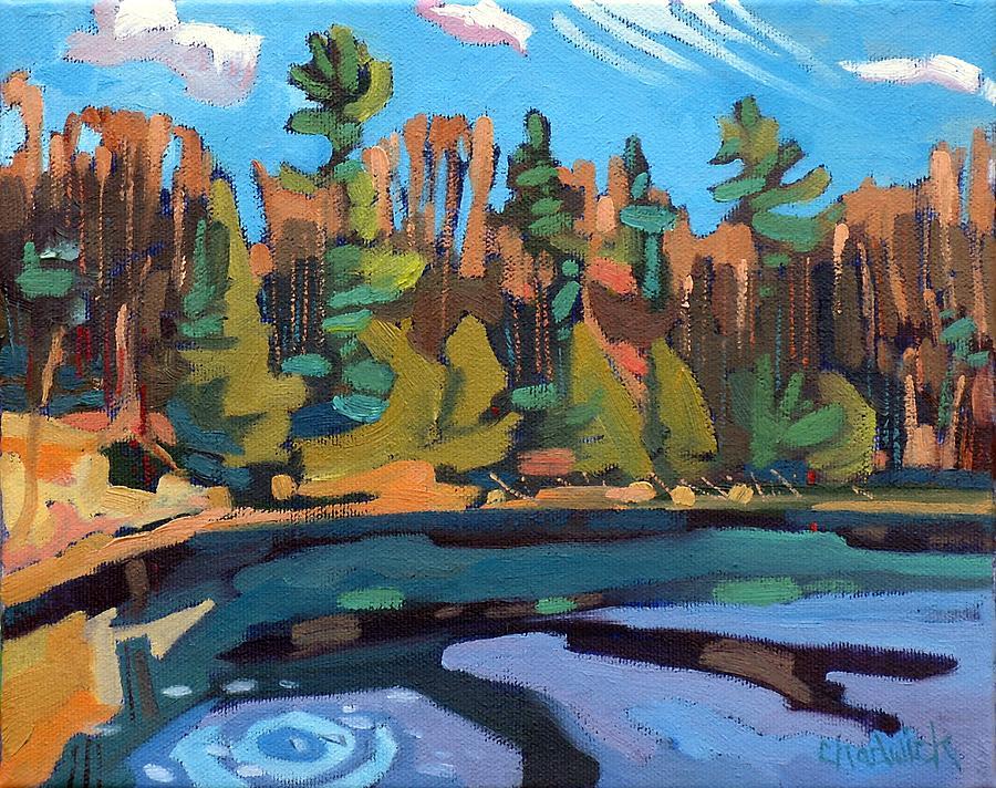 Jim Painting - Fresh Air by Phil Chadwick