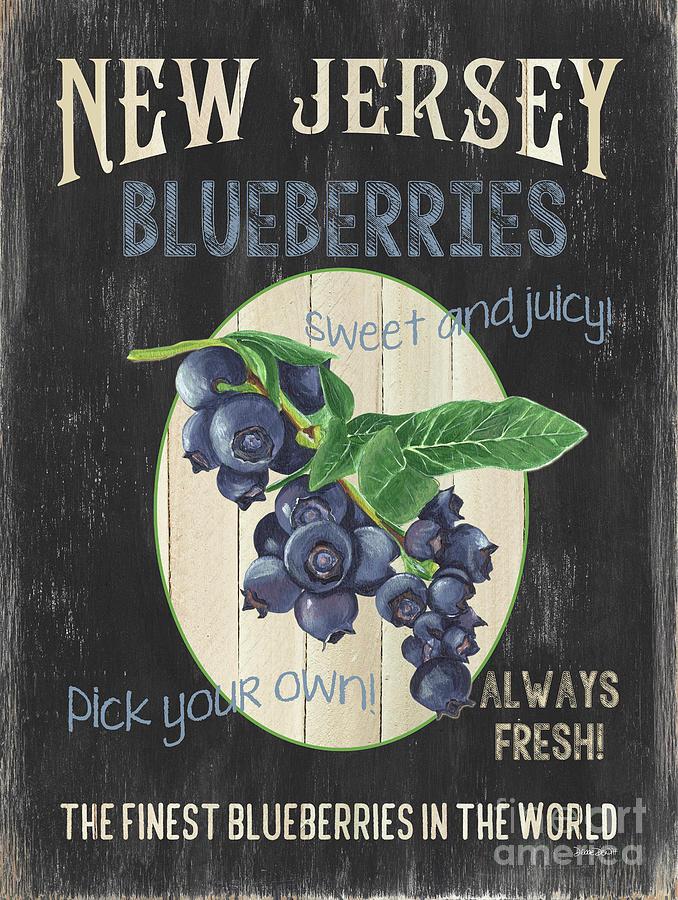 Fresh Berries 1 Painting