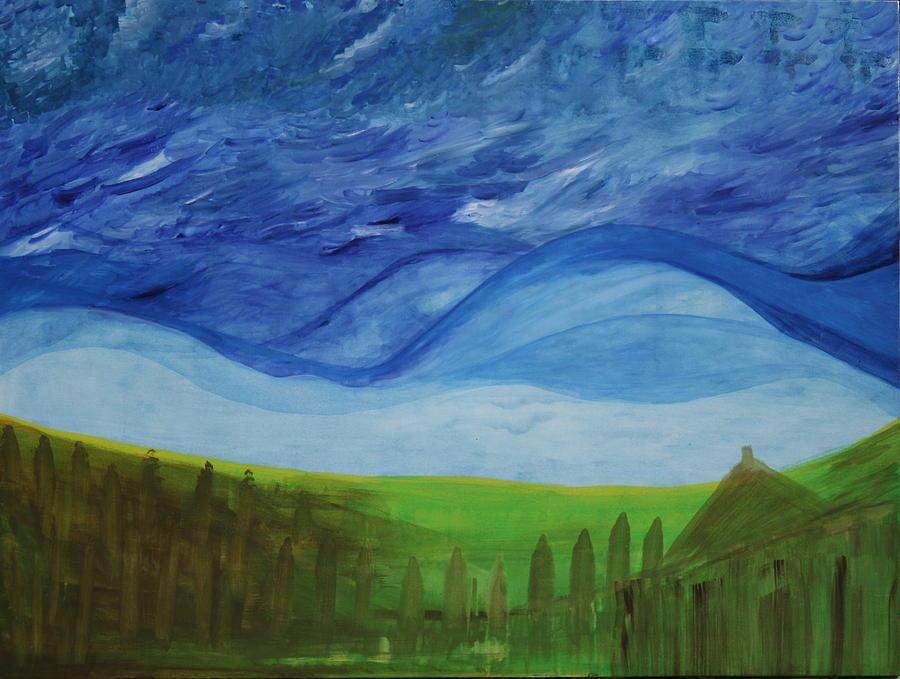 Fresh Breez From Dream World  Painting by Prakash Bal Joshi