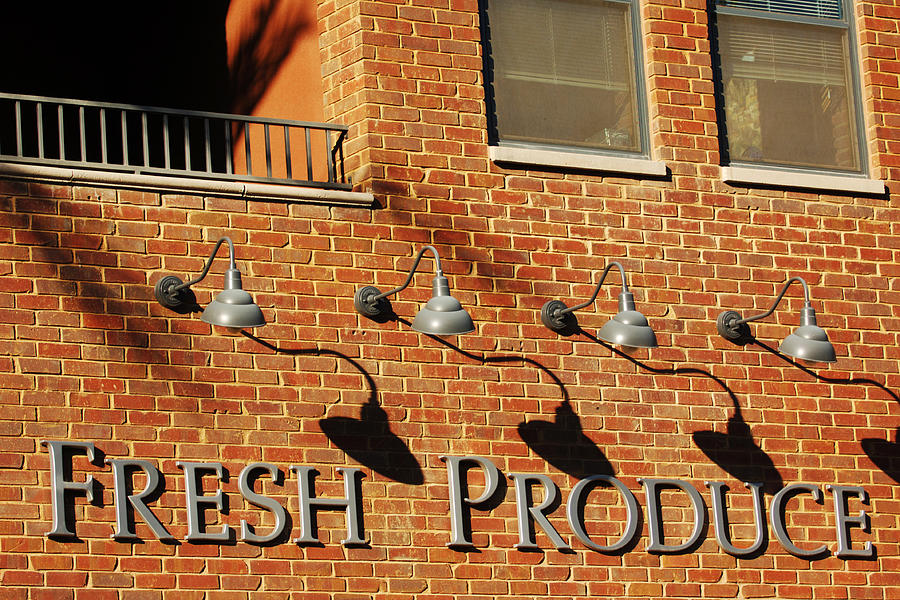 Fresh Produce Signage Photograph by Jill Reger