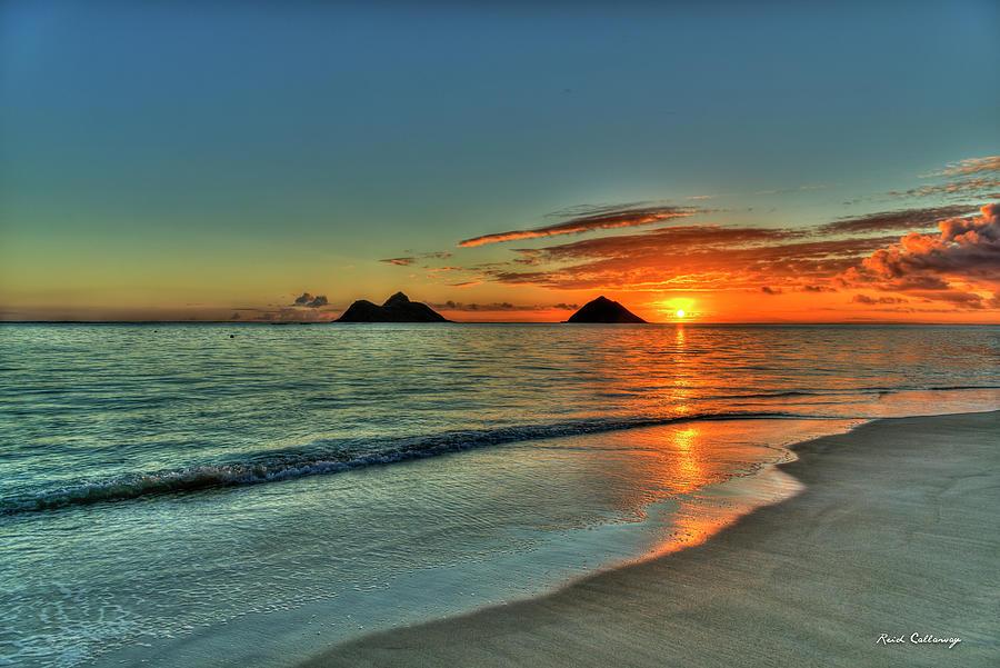 Fresh Start Lanikai Beach Oahu Sunrise Hawaii Collection Art