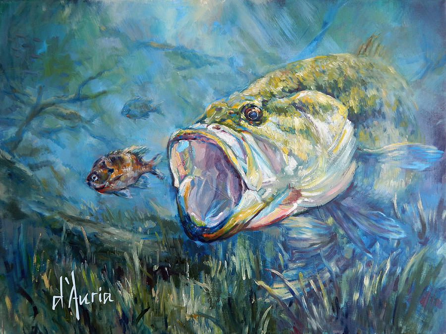 Freshwater Painting - Freshwater by Tom Dauria