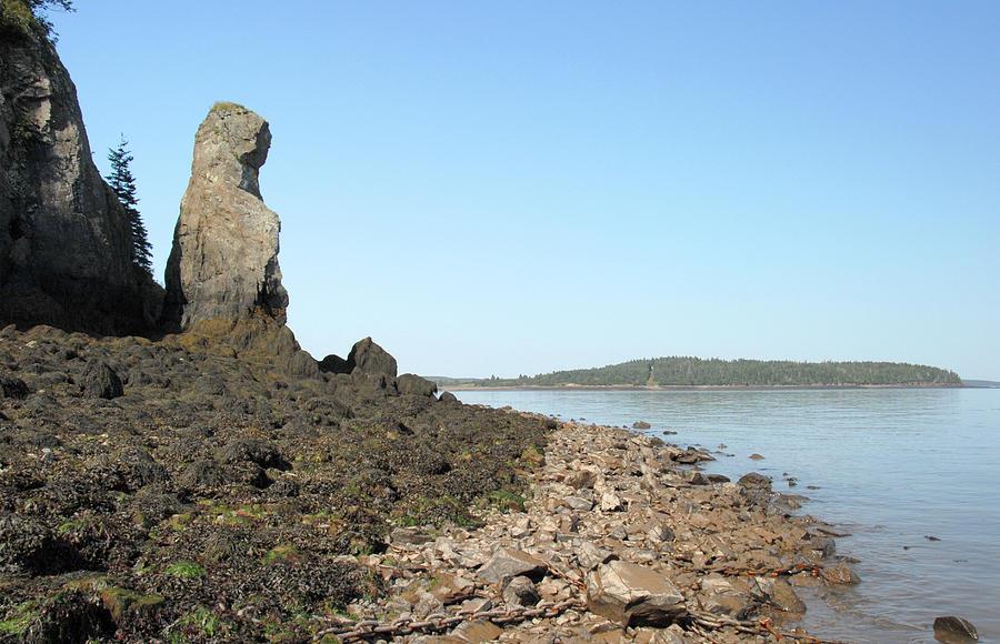 Maine Photograph - Friars Head Rock by Joseph Castiglioni