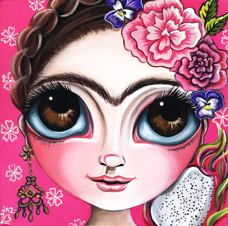Frida and the Dragonfruit by Jaz Higgins