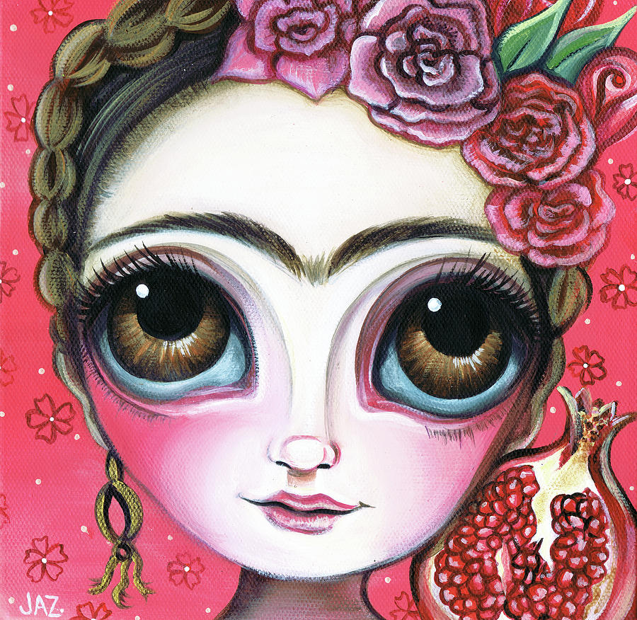 Frida and the Pomegranate by Jaz Higgins