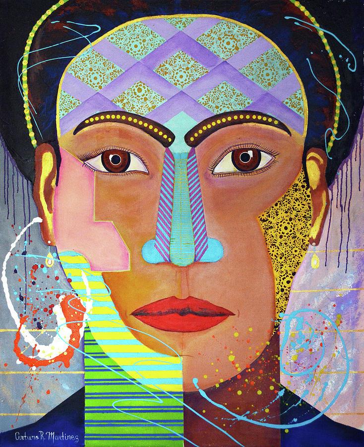 Frida Kahlo Drawing - Frida by Arturo Marinez