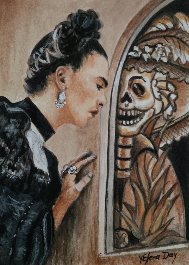 Frida Catrina Painting