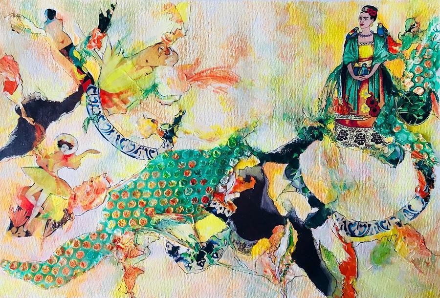 Frida Fantasy by Myra Evans