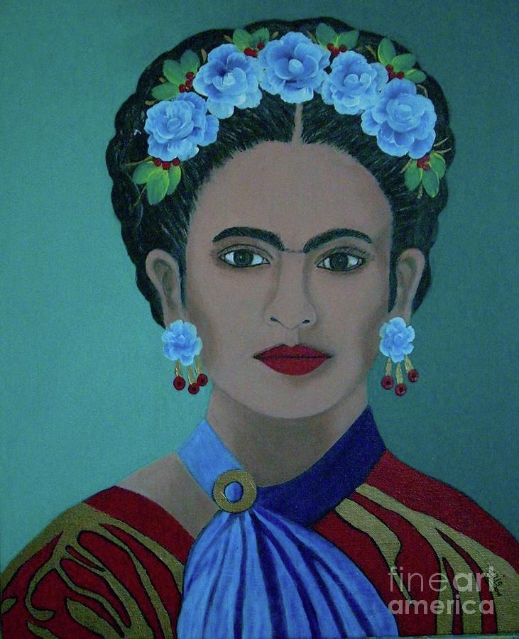 Frida Painting - Frida by Iris Mora
