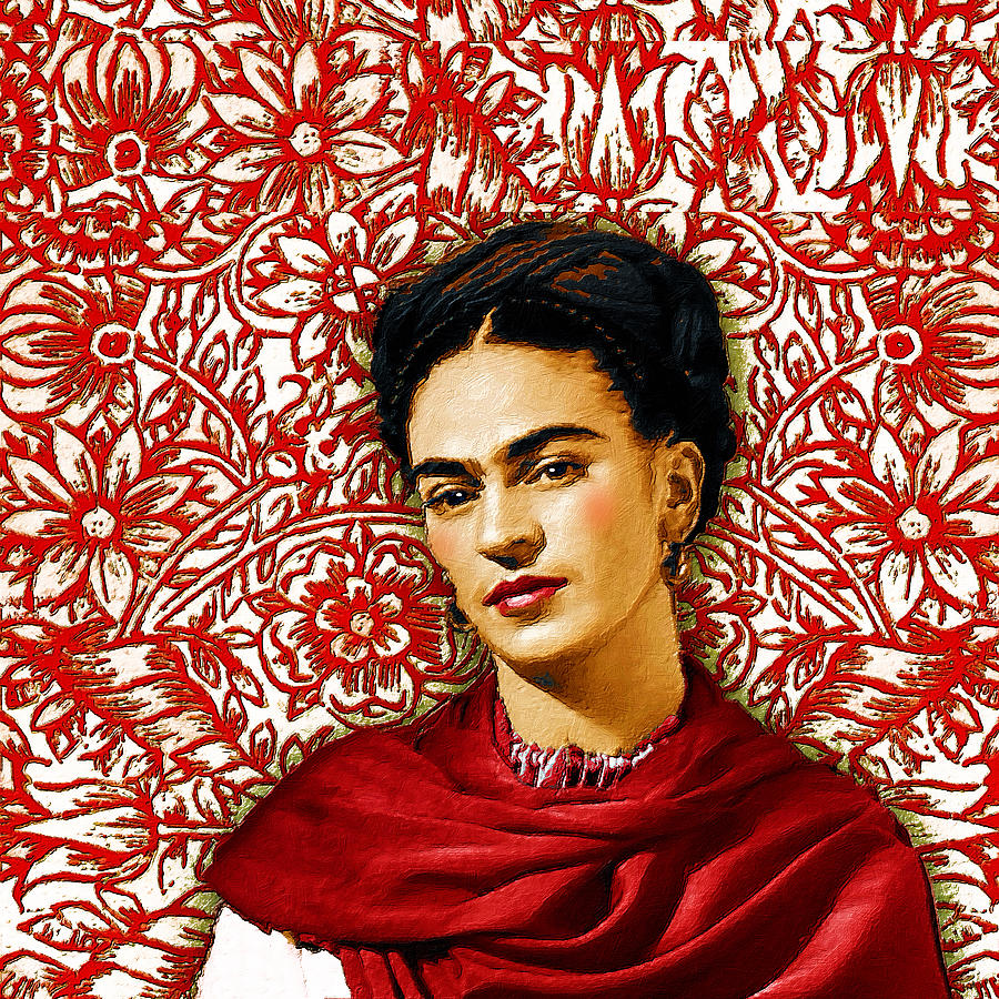 Frida Kahlo 2 by Tony Rubino