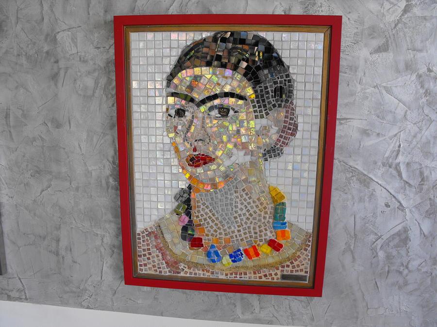 Frida Kahlo Painting - Frida Kahlo-2006 by Maria Carrasco