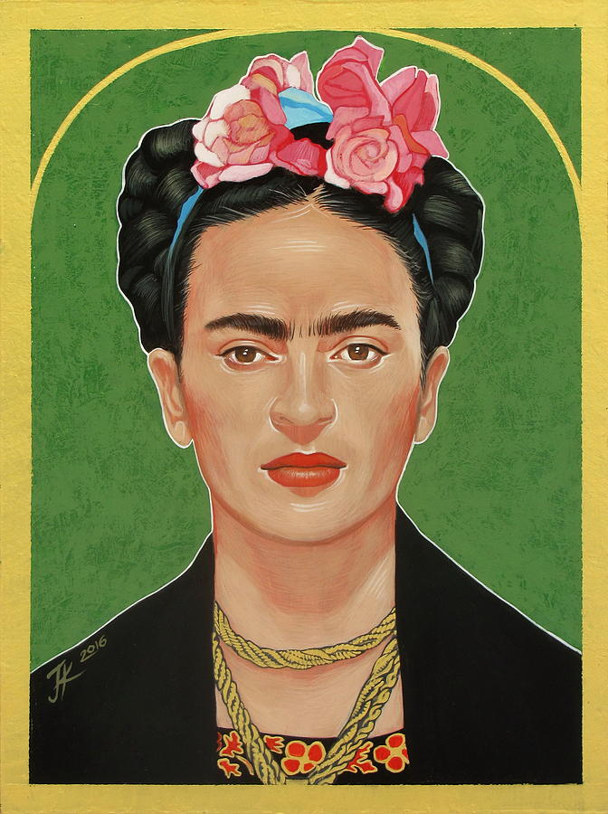 Frida Kahlo Painting - Frida Kahlo by Jovana Kolic