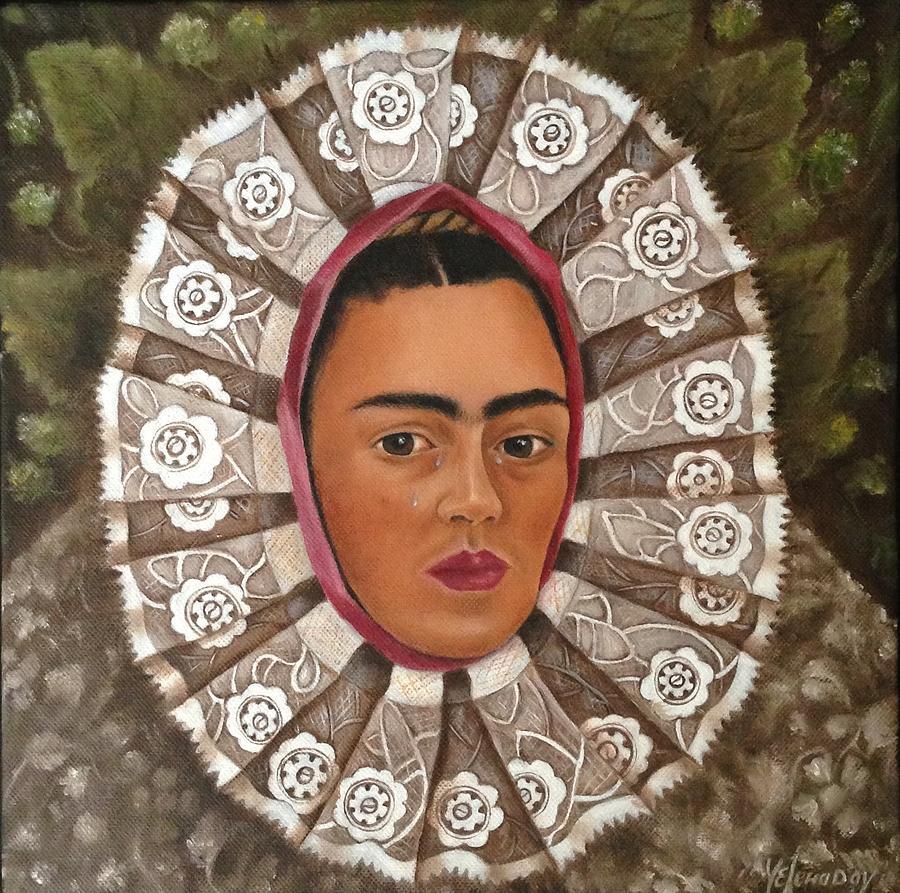 Frida Kahlo Tehuana Painting
