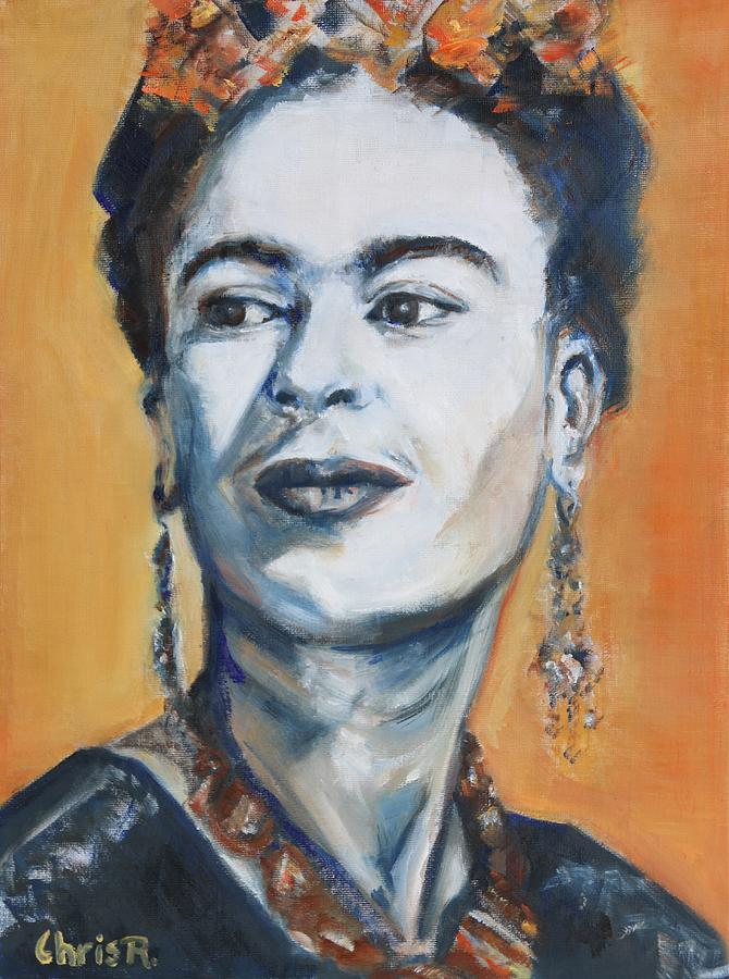 Frida Kahlo Portrait by Christel Roelandt