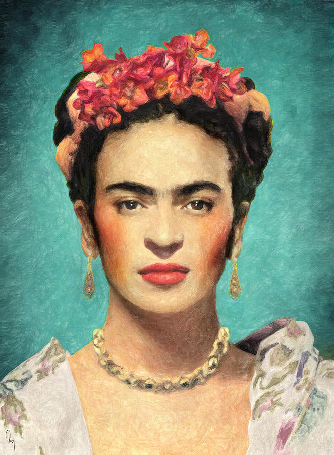 frida kahlo painting by taylan apukovska. Black Bedroom Furniture Sets. Home Design Ideas