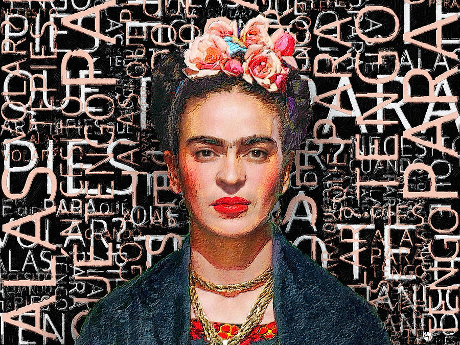 Frida Kahlo by Tony Rubino