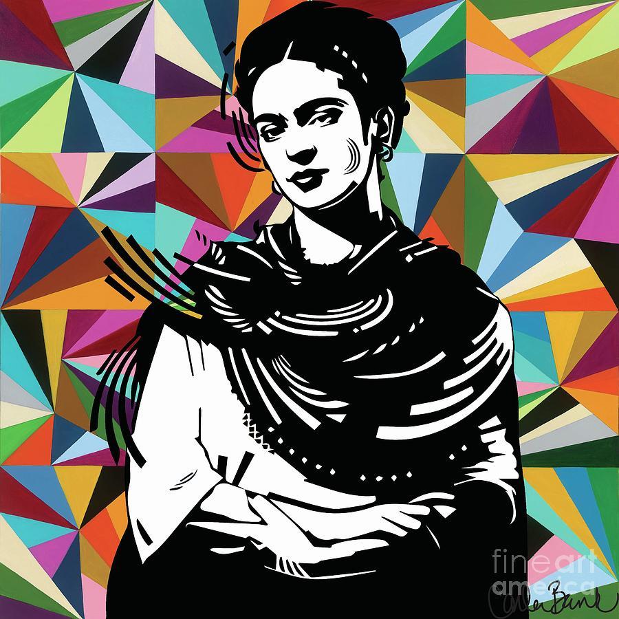 Frida Painting - Frida Stay True by Carla Bank