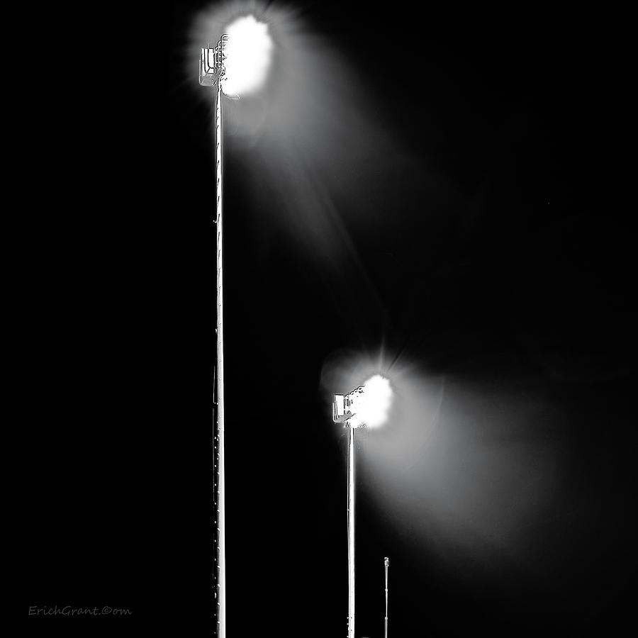 Texas Photograph - Friday Night Lights by Erich Grant