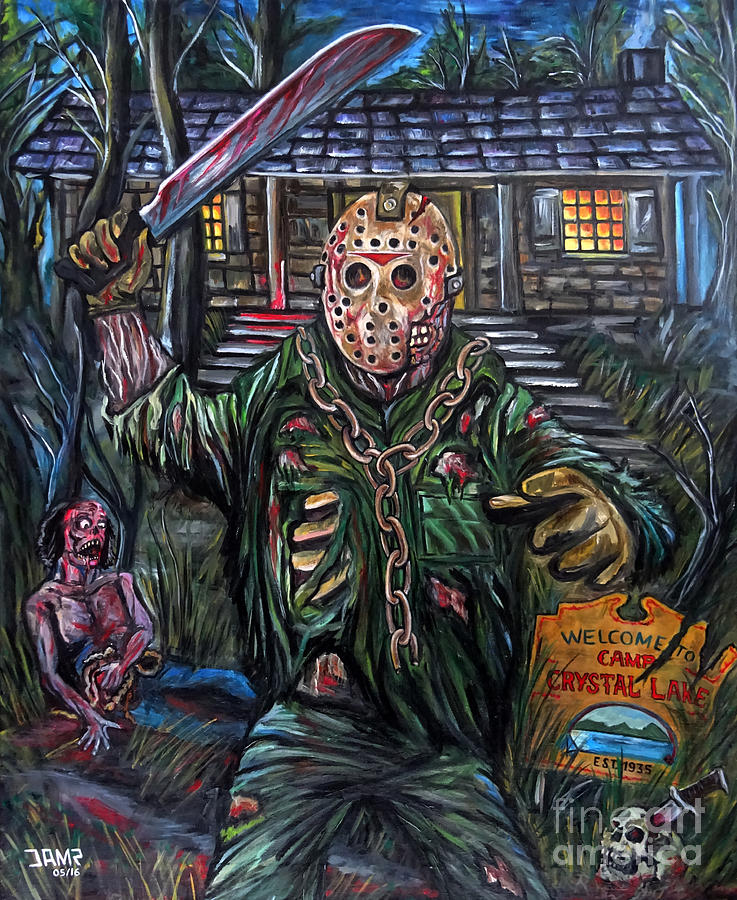 Friday The 13th Painting By Jose Mendez