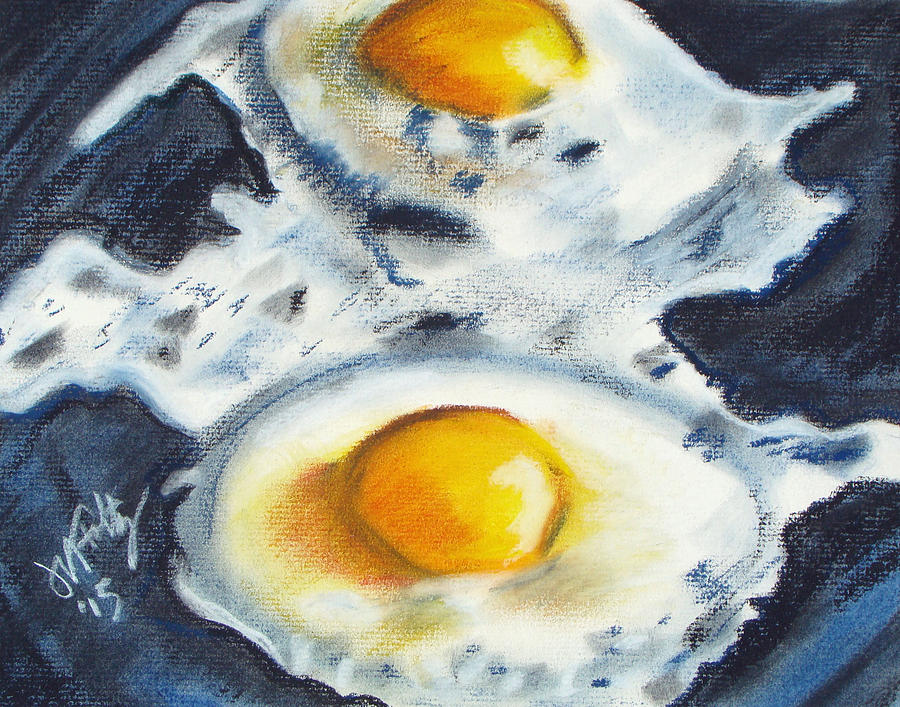 Fried Eggs by Michael Foltz