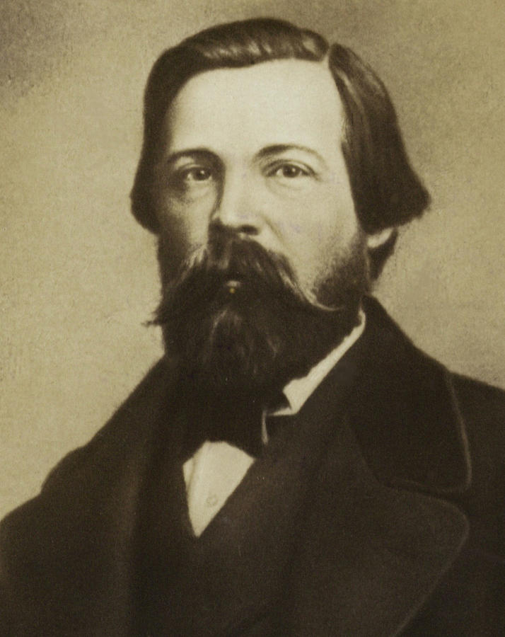 Friedrich Engels Photograph By German School