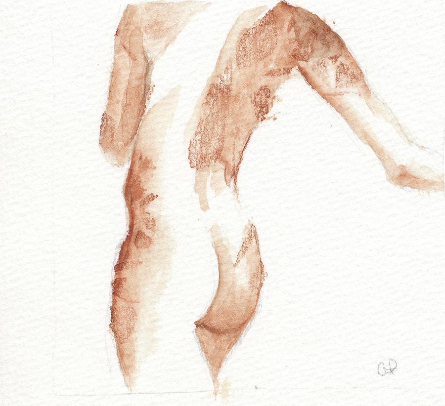 Body Painting - Friend Three by Cheryl Irwin