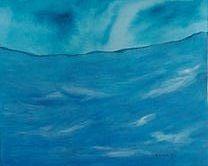 Sea Painting - Friendly Sea by Judith Redman