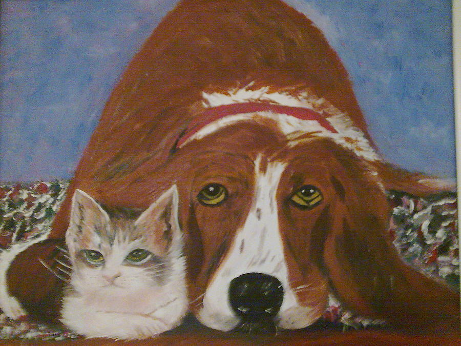 Friends Painting by Helen Vanterpool