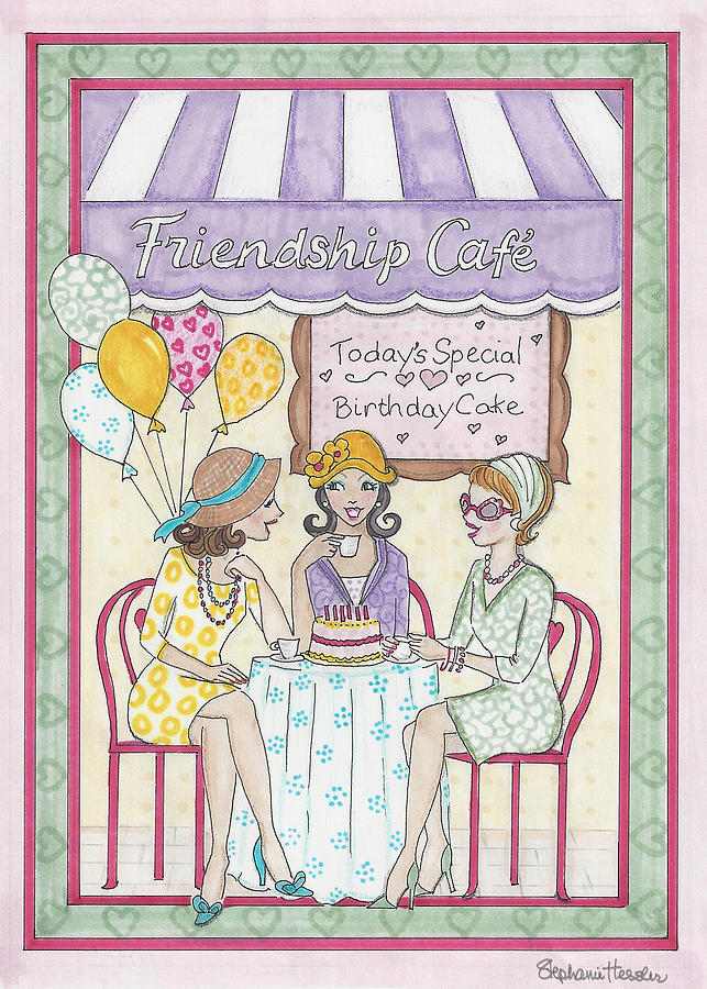 Friendship Cafe by Stephanie Hessler