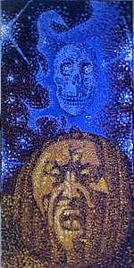 Halloween Painting - Frightfull Deilight by Louis Finklestein