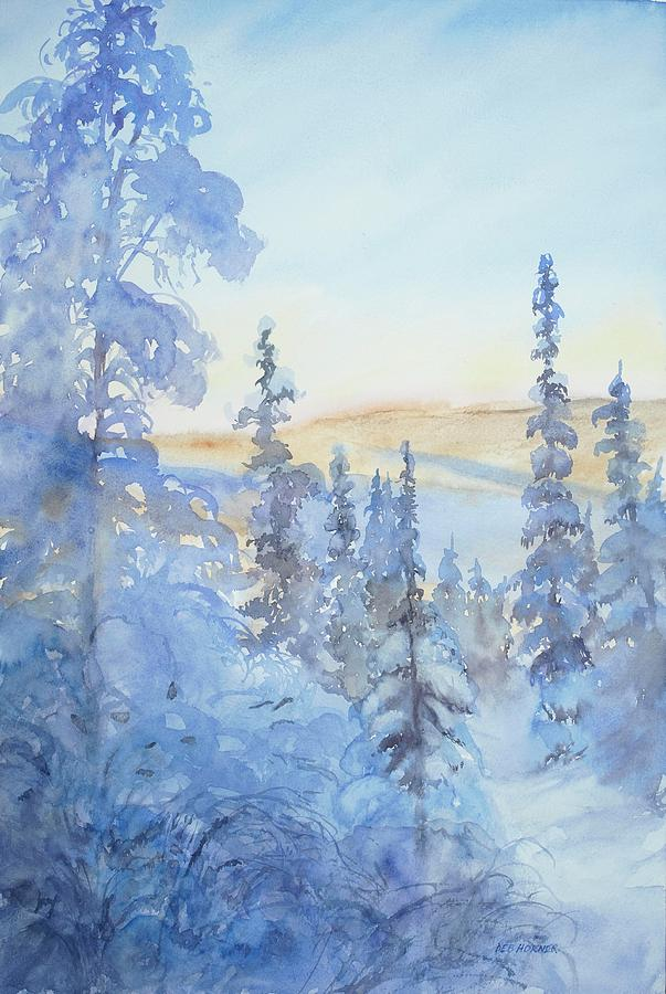 Frigid Morning by Deborah Horner