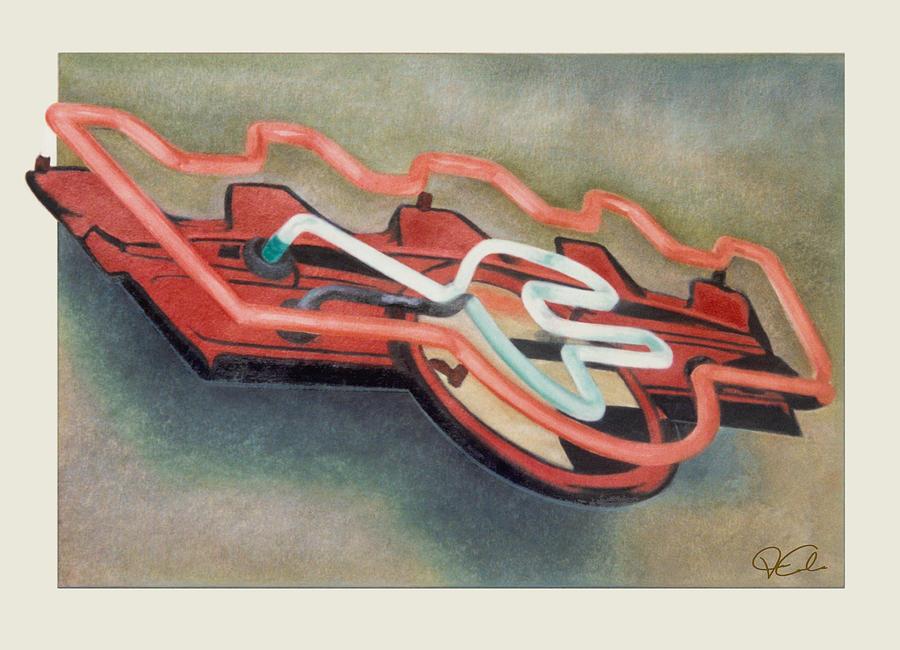 Cityscape Painting - Frigidaire by Van Cordle
